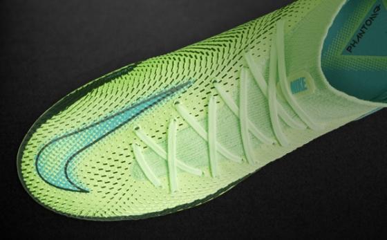 Botas de Fútbol Nike Phantom Amarillo Flúor / Turquesa