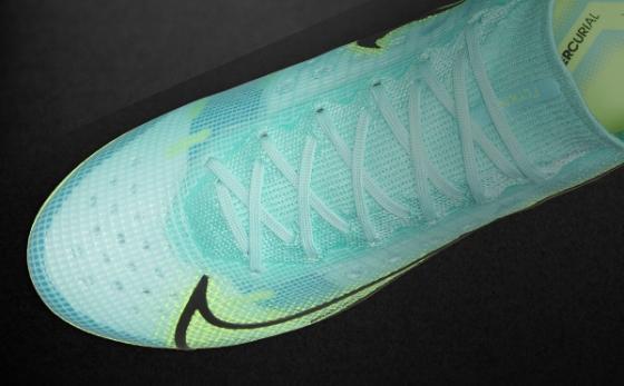 Botas de Fútbol Nike Mercurial Turquesa / Amarillo Flúor