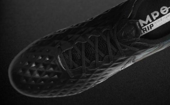 Botas de Fútbol Nike Tiempo Negro / Negro