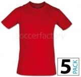 Camiseta de Fútbol NOCAUT Nocaut (Pack 5 unidades) 06248-0022