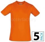 Camiseta de Fútbol NOCAUT Nocaut (Pack 5 unidades) 06248-0194