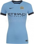 Camiseta de Fútbol NIKE Manchester City 2014-2015 Femenino 610935-489