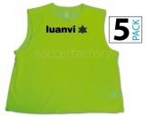 Peto de Fútbol LUANVI Peto (pack 5 unidades) 06268-0195