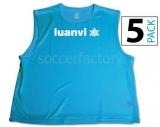 Peto de Fútbol LUANVI Peto (pack 5 unidades) 06268-0196