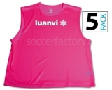 Peto de Fútbol LUANVI Peto (pack 5 unidades) 06268-0197