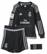 Camiseta de Fútbol ADIDAS Real H GK SMU M 2015-2016 S12651
