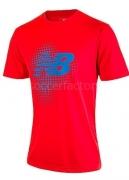 Camiseta de Fútbol NEW BALANCE Trg SS WSTM624-FLM