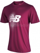 Camiseta de Fútbol NEW BALANCE Trg SS WSTM624-DOC