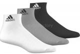 Calcetín de Fútbol ADIDAS Per Ankle T 3 Pares AA2322