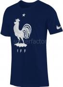 Camiseta de Fútbol NIKE FFF Crest Tee 742195-410