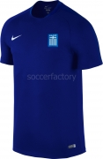 Camiseta de Fútbol NIKE Greece Stadium Away 2016 724623-455