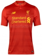 Camiseta de Fútbol NEW BALANCE Liverpool FC 2016-2017 MT630001