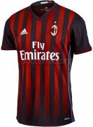 Camiseta de Fútbol ADIDAS 1ª Equipación AC Milán 2016-2017 AP7964