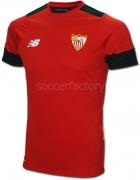 Camiseta de Fútbol NEW BALANCE SFC MC Entreno 2016-2017 MT630073-PMR