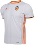 Camiseta de Fútbol ADIDAS 1ª Equipación Valencia C.F. 2016-2 2016-2017 BG9542