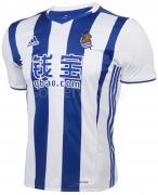 Camiseta de Fútbol ADIDAS 1ª Equipación R. Sociedad 2016-2017 BG9561