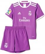 Camiseta de Fútbol ADIDAS Mini Kit 2ª Equipación R. Madrid 2016-2017  AI5169