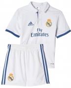 Camiseta de Fútbol ADIDAS Mini Kit 1ª Equipación R. Madrid 2016-2017  AI5194