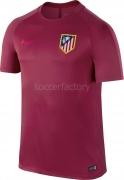 Camiseta de Fútbol NIKE Atco. de Madrid 2016-2017 Dry Squad 808852-620