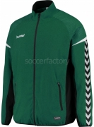 Chaqueta Chándal de Fútbol HUMMEL Authentic Charge Micro Zip Jacket 033551-6140