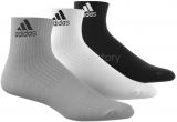Calcetín de Fútbol ADIDAS Calcetines cortos 3 bandas Performance AA2287