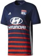 Camiseta de Fútbol ADIDAS 2ª equipación Olimpique de Lyon 2017-2018 BS2837