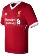 Camiseta de Fútbol NEW BALANCE 1ª Equipación Liverpool 2017-2018 MT730005-RDP
