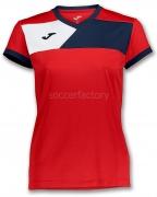 Camiseta Mujer de Fútbol JOMA Crew II Woman 900385.603