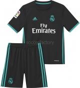 Camiseta de Fútbol ADIDAS Mini Kit 2ª Equipación R. Madrid 2017-2018 B31094