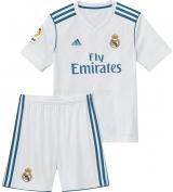 Camiseta de Fútbol ADIDAS Mini Kit 1ª Equipación R. Madrid 2017-2018 B31114