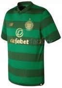 Camiseta de Fútbol NEW BALANCE 2ª Equipación Celtic 2017-2018 MT730045-VDG