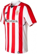 Camiseta de Fútbol NEW BALANCE 1ª Equipación Ath. Club Bilbao 2017-2018 MT730507-RCR