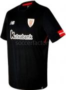 Camiseta de Fútbol NEW BALANCE 2ª Equipación Ath. Club Bilbao 2017-2018 MT730522-BK