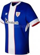 Camiseta de Fútbol NEW BALANCE 3ª Equipación Ath. Club Bilbao 2017-2018 MT730535-UVB
