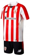 Camiseta de Fútbol NEW BALANCE Mini Kit 1ª Ath. Club Bilbao 2017-2018 JY730515-RCR