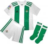 Camiseta de Fútbol ADIDAS Mini Kit 1ª Equipación Real Betis 2017-2018 CI2449