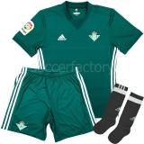 Camiseta de Fútbol ADIDAS Mini kit 2ª Equipación Real Betis  CI2453