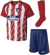 Camiseta de Fútbol NIKE Kit 1ª equipación Atco. de Madrid 2017-2018 847351-612
