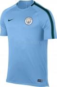 Camiseta de Fútbol NIKE Manchester City 2017-2018 Entrenamiento 854749-492