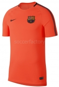 Camiseta de Fútbol NIKE F.C. Barcelona 2017-2018 Breathe Squad  854253-813
