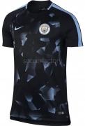 Camiseta de Fútbol NIKE Manchester City 2017-2018 Entrenamiento 854741-014