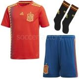 Camiseta de Fútbol ADIDAS Mini Kit 1ª Equipación España 2018 BQ8864