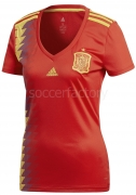 Camiseta de Fútbol ADIDAS 1ª Equipación Mujer España 2018 BR2716