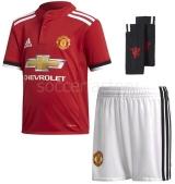 Camiseta de Fútbol ADIDAS Mini Kit 1ª Equipación Manchester United 2017-2018 AZ7578