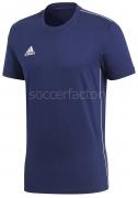 Camiseta de Fútbol ADIDAS Core 18 Tee Cotton CV3981