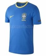 Camiseta de Fútbol NIKE Brasil 2018 Algodón 888320-403