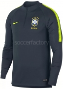 Sudadera de Fútbol NIKE Dry Brasil Cbf Squad 893331-454