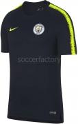 Camiseta de Fútbol NIKE Manchester City FC 2018-19 Entrenamiento 894296-475