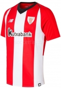 Camiseta de Fútbol NEW BALANCE 1ª Equipación Athletic Club Bilbao 2018-19 MT830148RCR