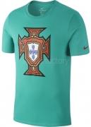 Camiseta de Fútbol NIKE Portugal 2018 Algodón 909843-348